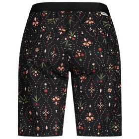 Maloja AnemonaM. Printed Multisport Shorts Women, moonless woodpieces